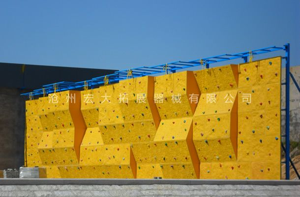 独立攀岩墙HD-6-室内攀岩-攀岩器材生产厂家