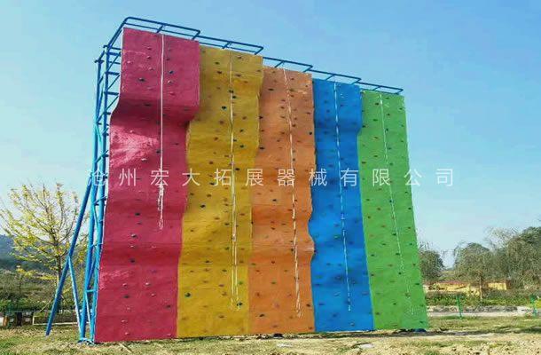 独立攀岩墙HD-2-攀岩器材-攀岩墙生产厂家