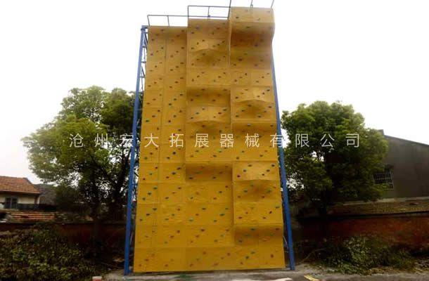 独立攀岩墙HD-3-户外攀岩器材-攀岩设施