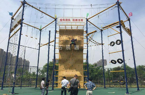 高空攀岩墙HD-2-高空拓展攀岩墙-攀岩器材