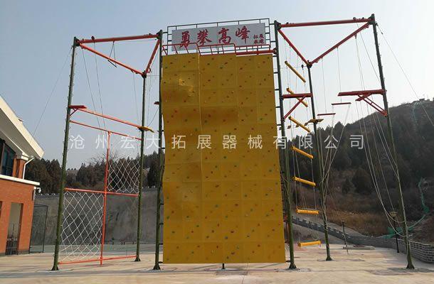 高空攀岩墙HD-4-户外攀岩设施-攀岩器材