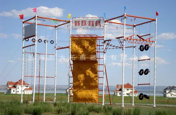 高空攀岩墙HD-1-高空拓展攀岩墙-攀岩器材