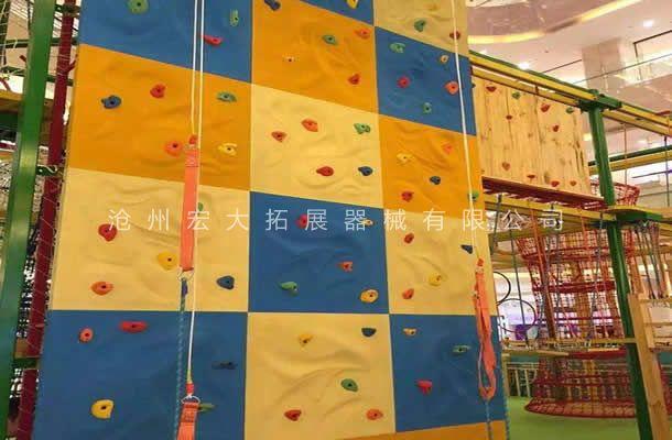 儿童攀岩墙