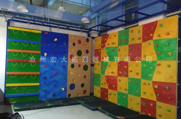 儿童攀岩墙HD-3-攀岩设备-户外攀岩器材
