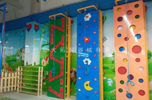 儿童攀岩墙HD-6-攀岩器材-攀岩墙生产厂家