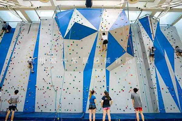 抱石攀岩墙HD-5-户外抱石攀岩-室内攀岩墙