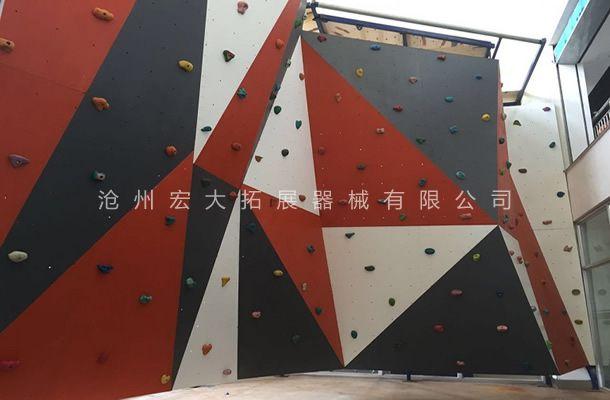 抱石攀岩墙HD-6-户外攀岩墙-攀岩器材生产厂家