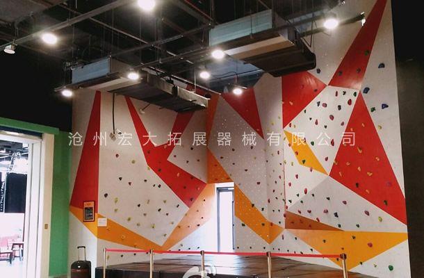 抱石攀岩墙HD-7-室内攀岩墙-攀岩器材