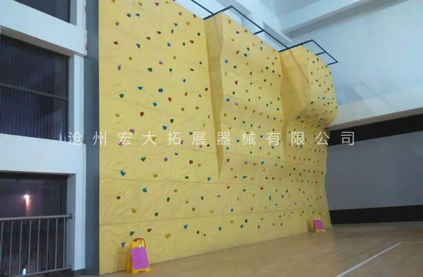 附墙体攀岩墙HD-1-拓展攀岩设备-户外攀岩器材