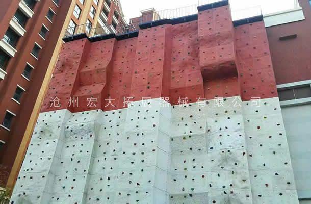 附墙体攀岩墙HD-4-室内攀岩-攀岩设备生产厂家