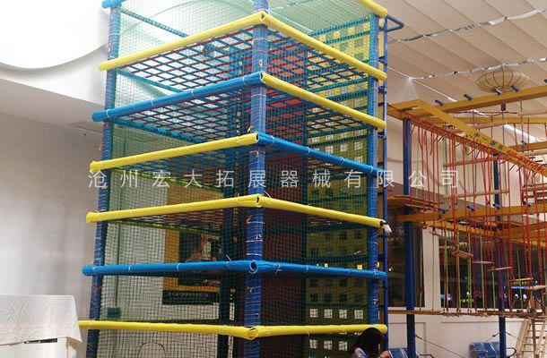 蜘蛛塔-青少年探险乐园拓展器材-体能乐园