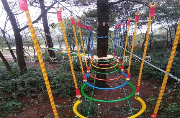 丛林彩虹桥-树上探险设备-丛林穿越