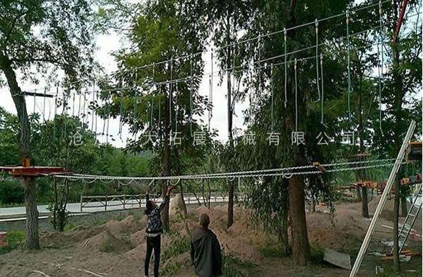 丛林绳桥-丛林探险-树上拓展设备