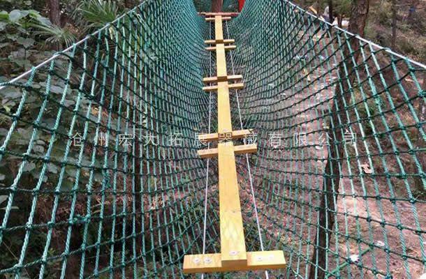 丛林工字桥-丛林探险乐园-穿越丛林
