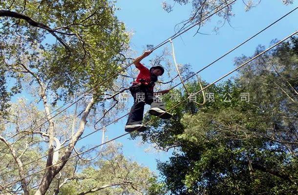 丛林缅甸桥-丛林探险-树上拓展设备