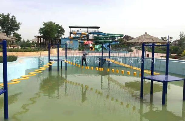 水上吊桩桥-水上拓展设施-水上拓展器械