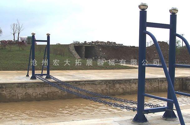 水上情侣桥-水上拓展项目设备-水上拓展器材