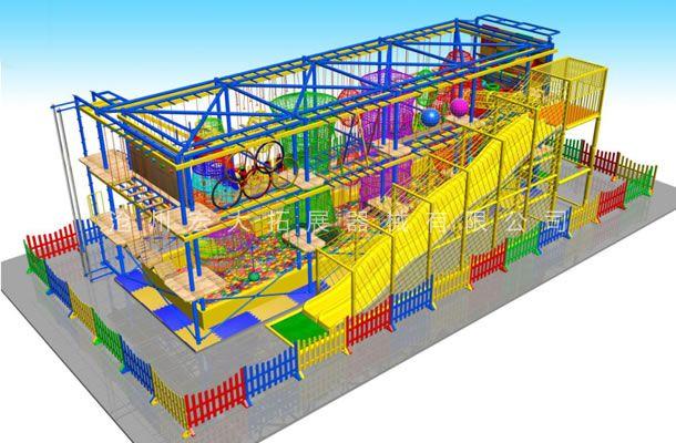 目字型儿童拓展-儿童探险乐园设备-儿童拓展厂家