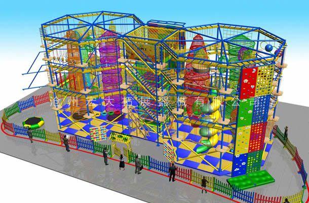 八边型儿童拓展-儿童探险乐园设备-儿童拓展厂家