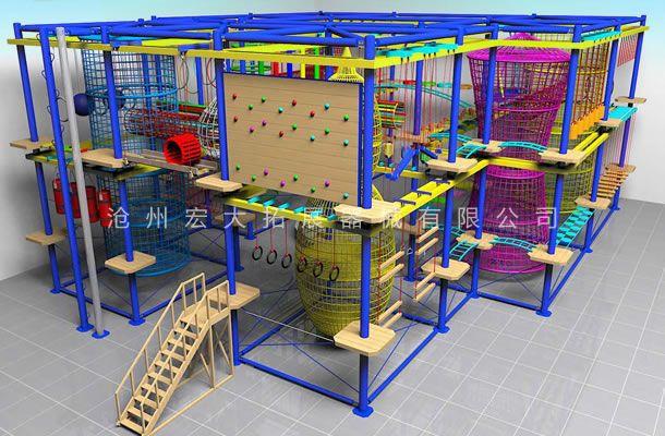 场地定制型儿童拓展-儿童拓展器材-儿童拓展器械