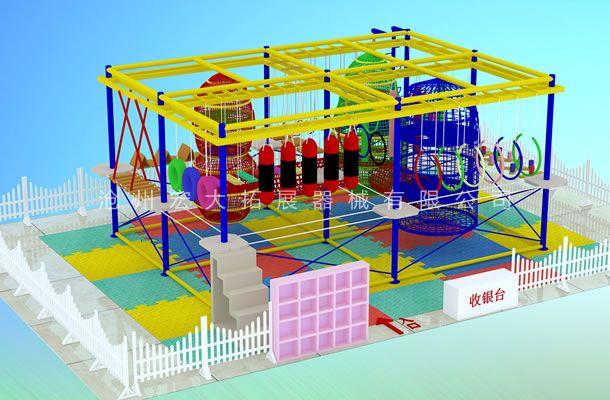 低型款儿童拓展-儿童探险乐园设备-儿童拓展厂家