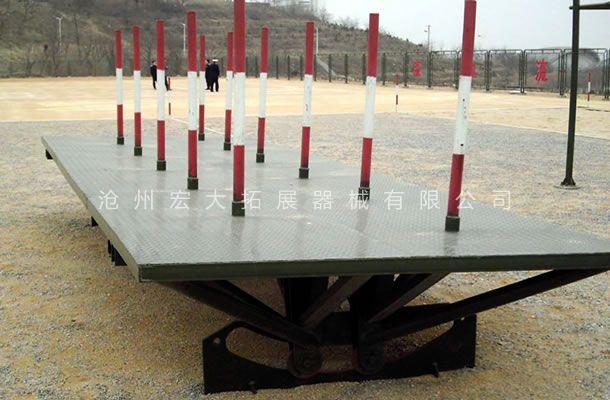 摇摆平台-400米渡海登岛-渡海登岛训练器材