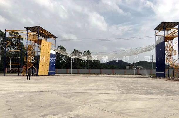 攀爬横渡-消防训练设施厂家-消防队训练器材