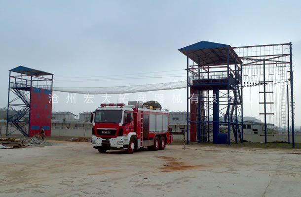 攀爬横渡训练设施-消防训练设施-消防训练器材