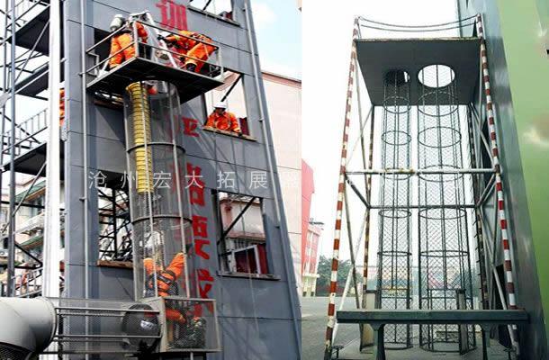 消防深井救援-消防训练设施-消防训练器材