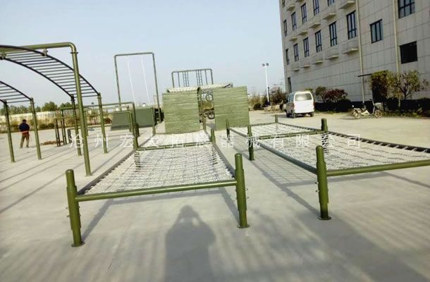 低桩网-公安特警训练器械-特警五项器材