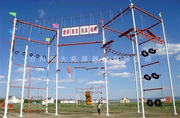 九面体高空-高空拓展器械-高空拓展训练设备
