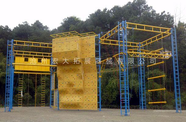 九面体高空-高空拓展器材厂家-高空拓展训练架