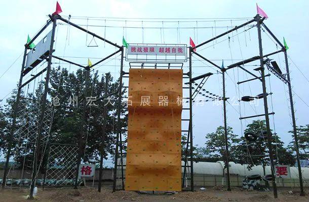 九面体高空拓展架-高空拓展器材-高空拓展器械