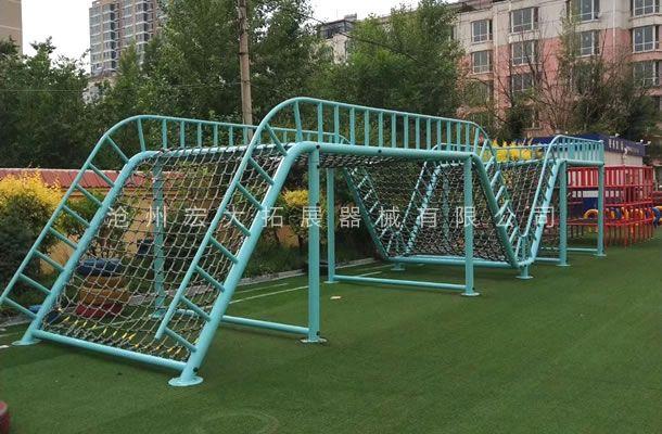 儿童攀爬网-儿童体能拓展设备-儿童体能游乐设备