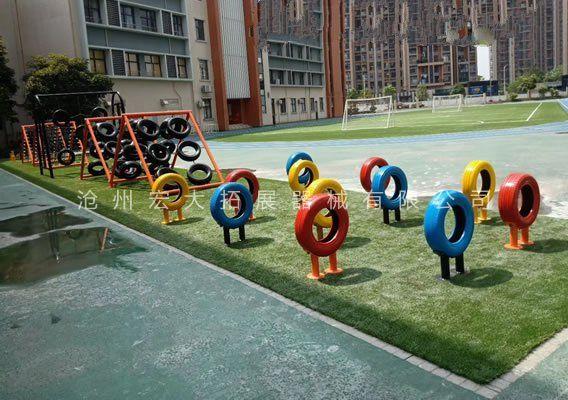 儿童体能拓展器材-儿童障碍赛-体能乐园设备