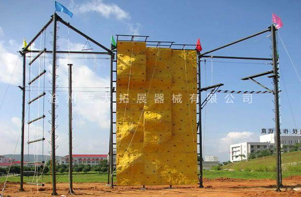 七面体高空拓展-拓展高空架-高空拓展训练设备