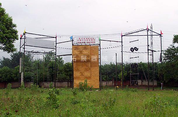 七面体高空拓展-高空拓展器械-高空拓展训练设备