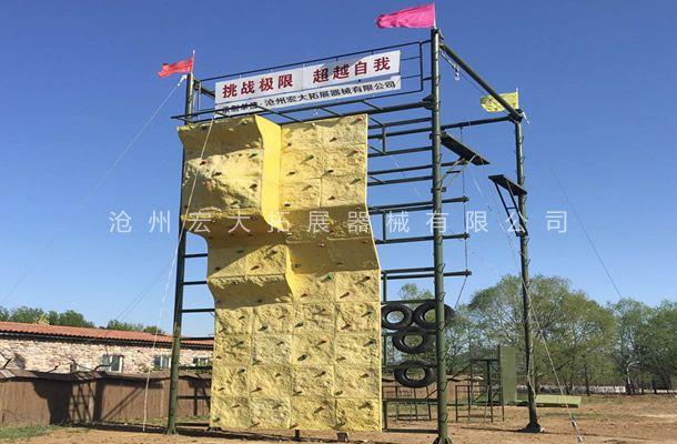 四面体高空-高空拓展器材厂家-高空拓展训练架