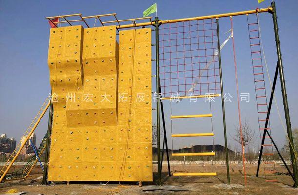 三面体高空拓展-拓展高空架-高空拓展训练设备