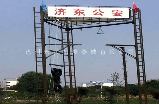 三面体高空-高空拓展器材厂家-高空拓展训练架