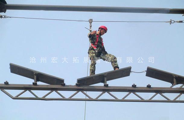 高空翘板桥-高空单项器材-高空翘板-高空拓展翘板