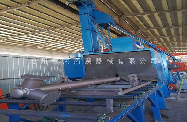 公司采用先进喷砂打磨设备-沧州宏大拓展器械有限公司