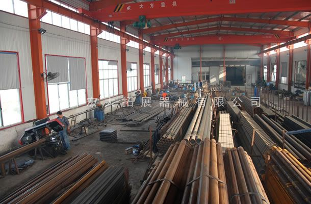 生产车间-国标管材库房