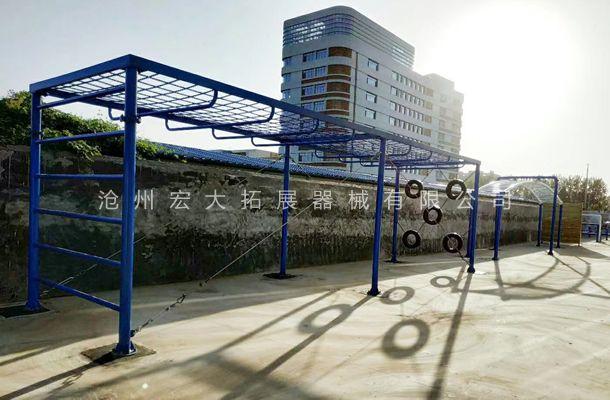 山东省菏泽市曹县公安局订购公安特警五项训练设施已安装