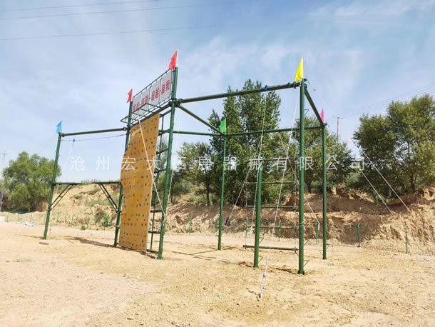 高空拓展器材  高空拓展器械  拓展高空架