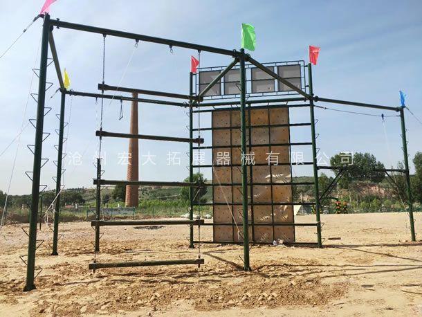 高空拓展训练设备  高空拓展器材厂家  高空拓展训练架
