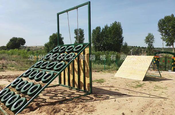 内蒙古鄂尔多斯市准格尔旗帮郎色太拓展基地项目安装完工
