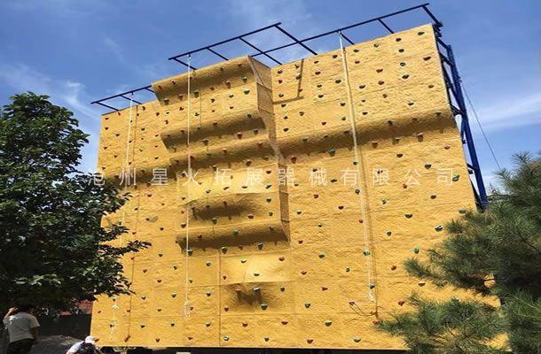 独立攀岩墙XH-5-户外攀岩设备-拓展攀岩墙