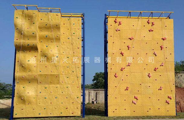 独立攀岩墙XH-3-户外攀岩器材-攀岩设施
