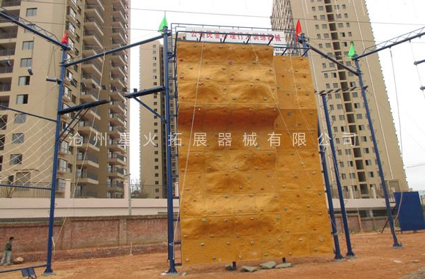 高空攀岩墙XH-5-攀岩厂家-室内攀岩器材
